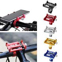 Wholesale Gps Case Bike - Metal Bike Bicycle Holder Motorcycle Handle Phone Mount waterproof case phone stand For iPhone 7 plus Samsung S8 edge Cell phone GPS