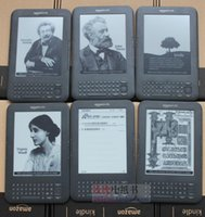 Wholesale E Books Readers Kindle - Wholesale- kindle 3 e-ink ebook reader keyboard ink screen 4GB e book with mp3 ereader books have kobo in stock