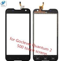 Wholesale Goclever Digitizer - Wholesale- 100% New For Goclever Quantum 2 500 Rugged Touch Screen Digitizer Assembly Free Shipping