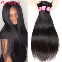 лучшие человеческие волосы бразильские монгольские оптовых-Бразильские выдвижения человеческих волос Малайзии перуанский монгольский Камбоджи лучшие необработанные прямые волосы пучки человеческих волос лучшее качество волос Weave
