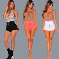 Wholesale denim shorts boots - Good A++ Hot Boots Women's Jeans Shorts JW014 Women's Jeans