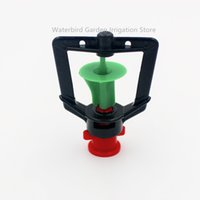 Wholesale Misting Sprinkler - mist nozzle 100pcs pack Rotary Sprinkler Water Saving Garden Flower Watering Hanging Misting Nozzle Micro Irrigation Fitting M112