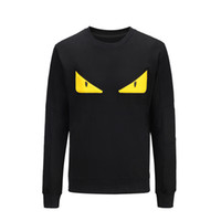 Wholesale Mens Clothing Small - Fashion Men Hoodie Sweatshirt Men Autumn Mens Hoodies Chest small eyes Sweatshirts O-Nekc Casual Brand-Clothing M-XXXL