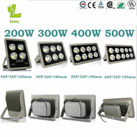 Wholesale 2017 Led Floodlight V W W W W led Outdoor COB LED Flood light lamp waterproof Tunnel lights street lighting
