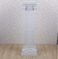 ingrosso romanzo di plastica di nozze-Colonne di plastica FRP di colonna romana di altezza 38 pollici [98 cm] colonne di Roma per il centro commerciale aperto props