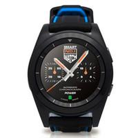 pulsera vs al por mayor-Bluetooth Smart Watch NO.1 G6 Podómetro del monitor del ritmo cardíaco = Pulsera Wearable Life Smart Watch para iPhone Android vs Xiaomi.