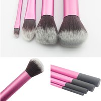 Wholesale Higher Company - New Beauty Trend Portable Wood Handle Makeup Comestic Brushes Kits Professional Daily Makeup Mini Company High-Tech Makeup Brushes