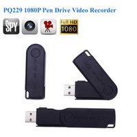 Full HD 1920 * 1080P Pen Drive Video Recorder versteckte Kamera USB Flash Drive Camcorder Audio Video Recorder Spion Kamera PQ229