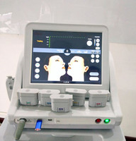 Wholesale Face Shot - Medical HIFU high intensity focused ultrasound face lifting wrinkle removal HIFU machine with 5 tips 10000 Shoots