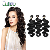 Brazillian Virgin Hair Body Wave 3 Bundles Brazilian Body Wave Grado 6A Extensiones de cabello humano brasileño Wet and Ondulado brasileño Hair Bundle