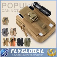 Wholesale Large Capacity Waist Packs - Hot Sales Outdoor Sport Waist Bag Large Capacity Tactical Molle Pouch Belt Men Waist Bag Fanny Pack Military Waist Pack for iphone 7 S8 Plus