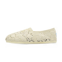 Wholesale Craft Woman - Classic brand women hollow shoes Hand-woven canvas shoes Crafts fashion women canvas shoes