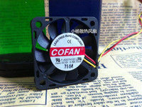 Wholesale Ball Chassis - F-4007H12C 12V 4 cm 0.16A 3 wire small chassis cooling fan