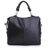 Wholesale Envelope Chain Bag - 2017 New Fashion kardashian kollection brand black chain women leather handbag shoulder bag KK Bag totes messenger bag