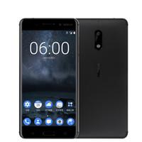Wholesale Qualcomm Mobile Phones - 2017 Unlocked Nokia 6 LTE 4G Mobile Phone Android 7 Qualcomm Octa Core 5.5'' Fingerprint 4G RAM 64G ROM 3000mAh 16MP Nokia6