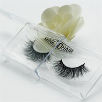 Wholesale Eyelash Extensions Human Hair - Selling 1pair lot 100% Real Siberian 3D Mink Full Strip False Eyelash Long Individual Eyelashes Mink Lashes Extension