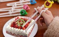 Wholesale Kids Training Chopsticks - Wholesale- Free shipping Cartoon Style Kids Children early Learning Training Designed Chopsticks Baby enlightenment chopsticks 2015 markkk