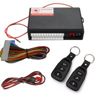 Wholesale Vehicle Remote Start - Hot Sale Car Alarm System Auto Remote Safety Vehicle Keyless EntryThe System Security Start Stop System Car Central Lock Kit