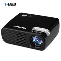 Wholesale projector pro - Wholesale-Excelvan BL23 PRO Android 4.4.2 WIFI Projector 800*480 2600Lumens With Built-in Speaker Support Bluetooth 3D Home Theater