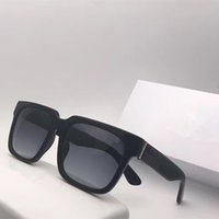 Wholesale fiber square for sale - Group buy Fashion Men Brand Designer Sunglasses Popular Wrap Square Frame UV Protection Lens Carbon Fiber Legs Summer Style Top Quality Case