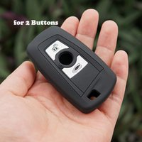 Wholesale Bmw Silicone - silicone key fob cover case wallet skin shell holder for BMW 1 2 3 5 7 SERIES F10 F20 F30 335 328 535 650 remote keyless protect