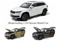 Hot Sale Brand New Alloy Diecast modelo de carro para Skoda Kodiaq 1 18 Scale Collection 3 cores brinquedos por atacado e varejo por PaudiModel
