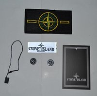 Wholesale Chinese Badges - 10 sets arm patch label buttons island badge armbands (patch + buttons + TAB)