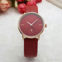 Wholesale Wrist Watches For Girls - Fashion women luxury brand watches Small Dial Works Crocodile pattern Leather Strap Quartz wrist watch For ladies girls best gift hot sale