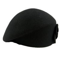 bayan bereleri satışı toptan satış-Toptan Satış - Sıcak Satış Yeni Lady Berets Zarif Yün Bere Kadınlar Kış Sonbahar Stil Cap Renk Ücretsiz Nakliye Seçmek Caps 31.5