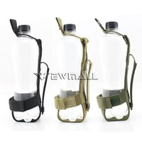 Wholesale Canvas Water Bottle - Outdoor sport tactical Molle Water Bottle Pouch Carrier holster Waist belt Bags for hiking camping