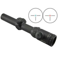 Wholesale Ir Rifle - Visionking 1.25-5x26 Rifle Scope IR Hunting 30 mm three-pin with 21mm mount rings Riflescope Good Quality
