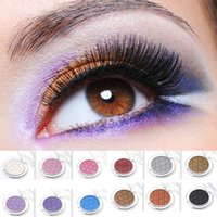 Wholesale Pigment Cosmetic Color - New 12 Color Shimmer Eyeshadow Cosmetic Beauty Makeup Tool Smudging Long Lasting Nude Eyeshadow Palette Pigment Maquiagem