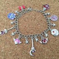 Wholesale Sailor Bracelets Wholesale - Wholesale-Freeshipping 1pcs a lot Sailor moon charm bracelet ZSXQQ01