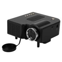 Wholesale Hdmi Pocket Projector Wholesale - 5 PCS UC28+ Portable LED Projector Cinema Theater PC&Laptop VGA USB SD AV HDMI digital pocket home cinema projetor With Retail Box