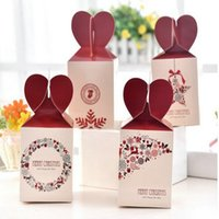 Wholesale Cheap Candy Apples - Wholesale cheap Christmas holiday products Apple packing box 4 fruit candy packaging gift box Christmas Eve