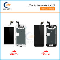 Wholesale Camera Replacement - LCD Display For Apple iPhone 6S Touch Screen Digitizer Frame Full Set Assembly Replacement+Home Button+Front Camera Top Quality+3D Function