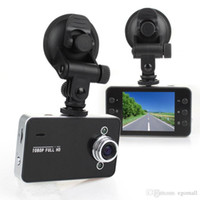 Wholesale Car Memories - DVR K6000 NOVATEK 1080P Full HD LED Night Recorder Dashboard Vision Veicular Camera dashcam Carcam video Registrator Car DVR