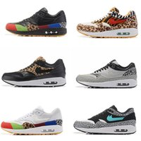 Wholesale Picking Shoe - Max 87 MASTER Black Multicolor Essential Mens Running Shoes PREMIUM QS Retro atmos Sneakers Elephant Trainers Pick 1 size 36-46