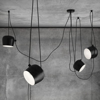Schwarze Weiße Leuchten Kaufen -Moderne Nordic Ziel Pendelleuchten Weiß Schwarz Aluminium Pendelleuchte Home Leuchte Leuchte Bar Restaurant Suspension Glanz