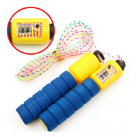 Wholesale Adjustable Skip Rope Counter - Adjustable Skipping Jump Jumping High Speed Rope With Counter Number Sports Fitness Exercise Workout Gym Calorie
