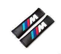 Wholesale Pad Mm - 240 mm seat belt shoulder pad sets MUSTANG Mustang logo    m sline trd abt Fit Check 2PCS