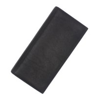 Wholesale Natural Purse - Wholesale- Luxury Brand Mon Men MB Wallet Genuine Leather Mens Wallet blanc soft natural leather long wallets purse ship with box MO-902