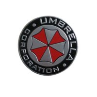 Wholesale Umbrella Sticker - car-styling Accessories Umbrella Corporation 3D Aluminum Motorcycle Car Sticker For ford focus bmw mazda opel toyota car-cover
