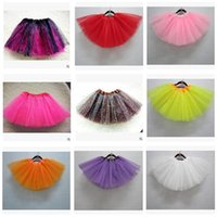 Wholesale Brown Ruffle Blouse - Girl Clothes Tutu Skirt Kids Princess Girls Skirts Lovely Ball Gown Pettiskirt TUTU Children Clothing Baby Dress DHL Free Shipping