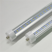 T8 LED Tubes Lights 5ft 4ft One Single Pin FA8 R17D AC85-265V 2835SMD Ampoules 10W-24W Lampe 100LM Direct de Shenzhen China Facotry en gros