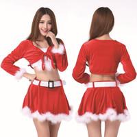 Wholesale Rabbit Dance Costume - Uniform Temptation, Uniforms, Christmas Party Stage Interest Suit, Costumes Dance Clothing, Christmas Rabbit Woman