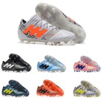 Wholesale New Arrial - New Arrial ACC Nemeziz 17.1 FG Football Shoes Mens Soccer Cleats Outdoor Soccer Shoes High Quality Soccer Boots Men'S Football Boots 39-45