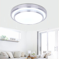 Wholesale Double Ceiling Led - Round Double Side LED Ceiling Light Bedroom Lamp Indoor Lighting 12W 18W 24W Cool White Warm White Dimmable Ceiling Light