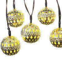 ip65 garden led power 10 led moroccan solar string lanterns led fairy lights