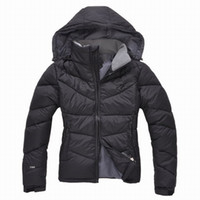 Wholesale Thin Down Jacket Hooded - new hot north women coats down jacket winter jacket women warm coat jacket 90% duck down Windproof hooded 700